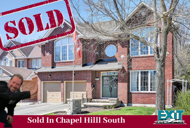 SOLD:  Stunning Luxury Home in Chapel Hill South Ottawa ON