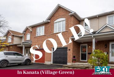 SOLD! in Kanata's Village Green