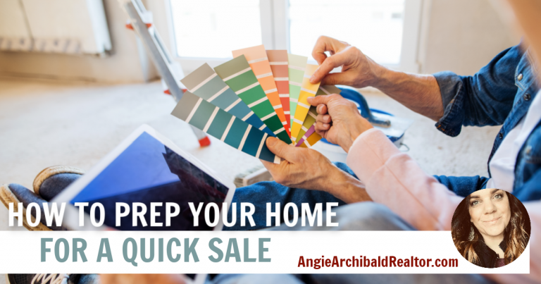 how to prepare for a quick sale image