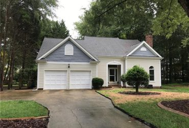 Under Contract: 9905 Chimney Corner Court, Charlotte NC 28210