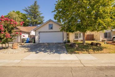 1607 Bridgecreek Drive, Sacramento, CA 95833 – SOLD!