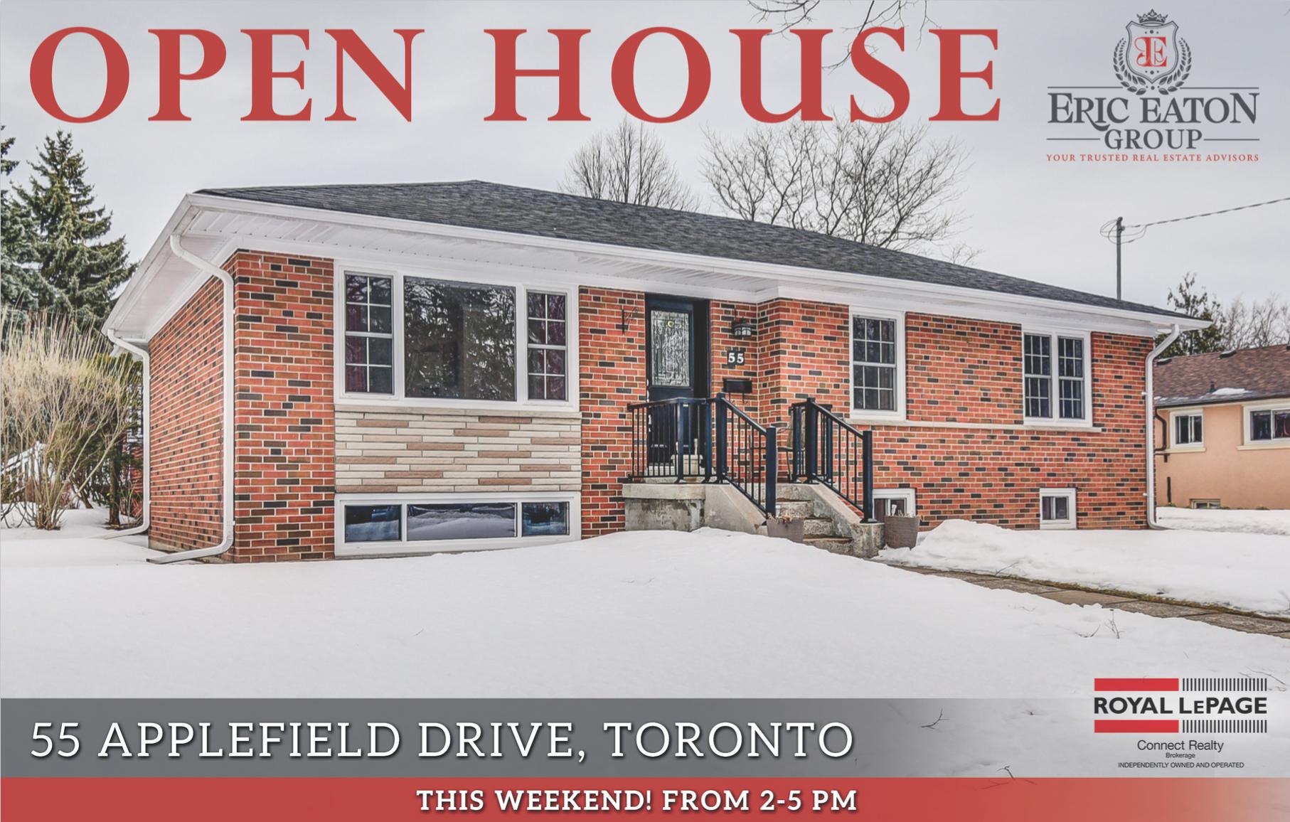 55 Applefield Drive, Toronto, ON M1P 3Y1