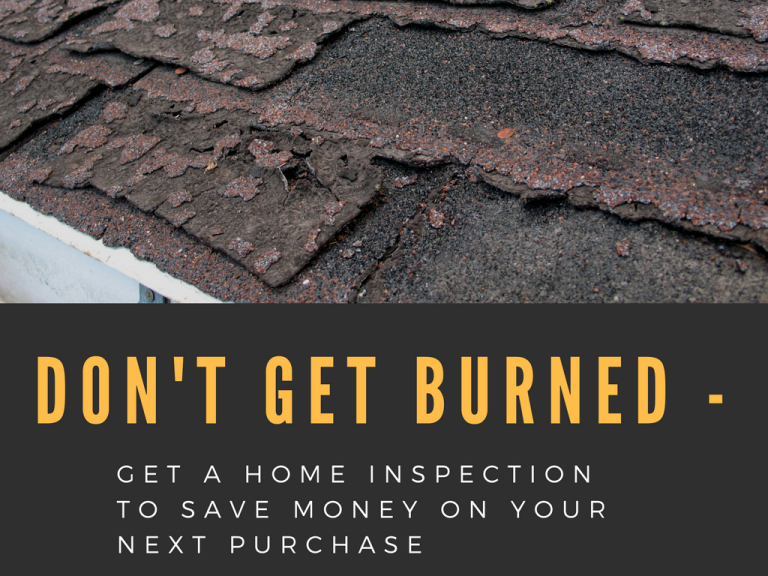Don't Get Burned - Get A Home Inspection to Save Money