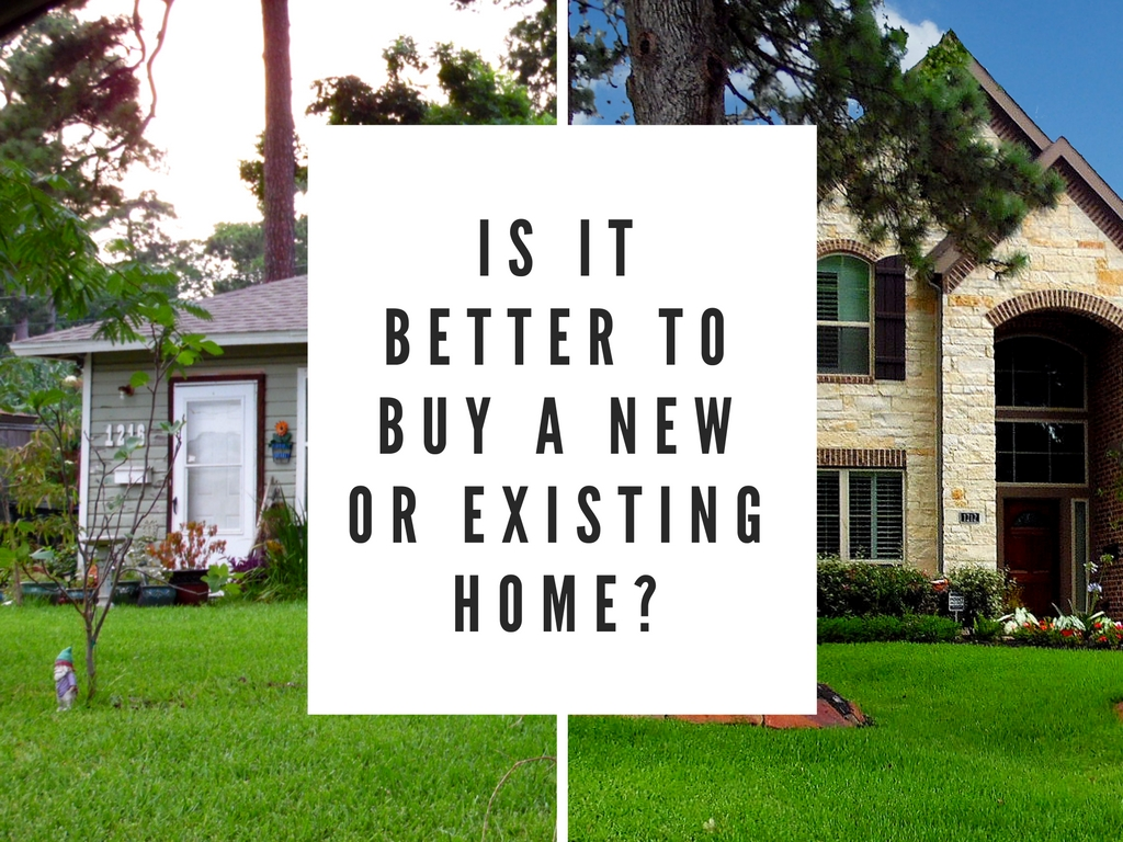 Should you buy new  construction or an existing home?