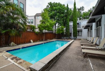 Modern Condo in Oak Lawn with a Pool View