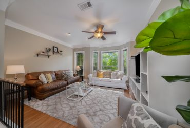 Enjoy the Tree-Lined Streets of State Thomas – Adorable Town Home with Garage