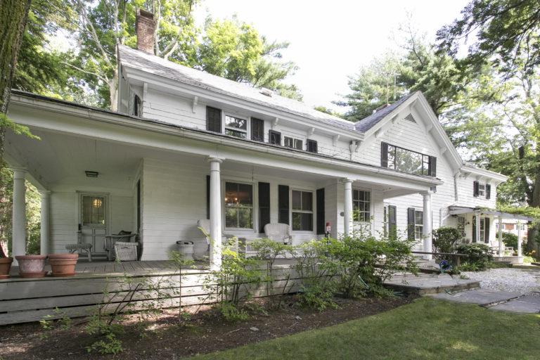 Exterior with wrap porch
