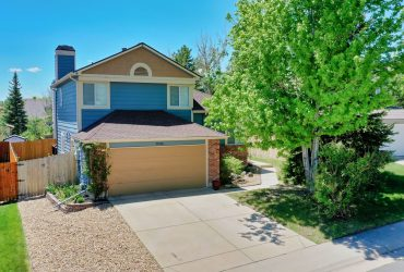 Fantastic Single Family Home In Cherry Creek School District!