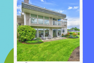 Downtown 2 BR view condo in the fishing village of Gig Harbor! 7400 Stinson Ave, #149, Gig Harbor, WA