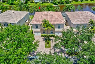 Catalina Lakes Lakefront Townhouse – 142 Santa Barbara Way Palm Beach Gardens FL