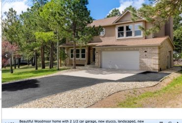 Gorgeous Woodmoor Home on Half Acre
