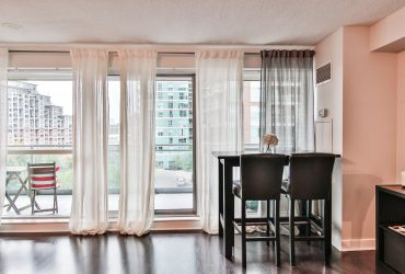 SOLD OVER ASKING! 1 Bedroom + Den Condo in Liberty Village