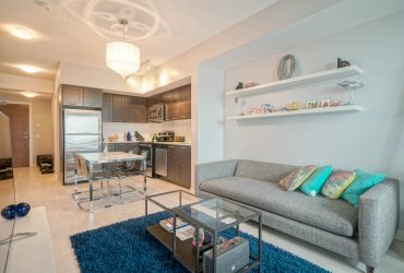 LEASED IN 1 DAY! One Bedroom+Den Condo at Park Lawn and Lake Shore
