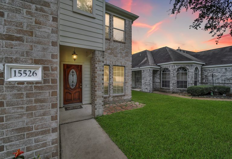 Front (2) 15526 Fir Woods Ln Cypress, TX 77429; 3 bed 2.5 bath