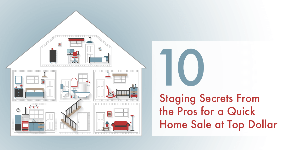 Top 10 Professional Staging Tips