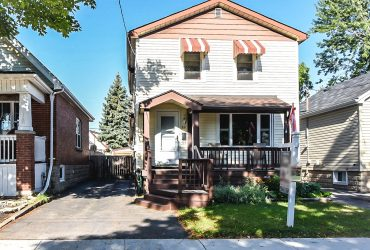 89 Garside Ave Hamilton 3 Beds 2 Storey For Sale