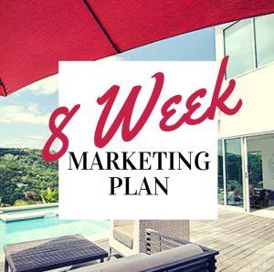 8 week market plan cover