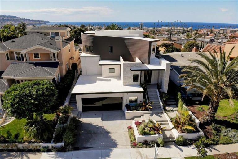 1203 S Gertruda Redondo Beach CA Front Aerial