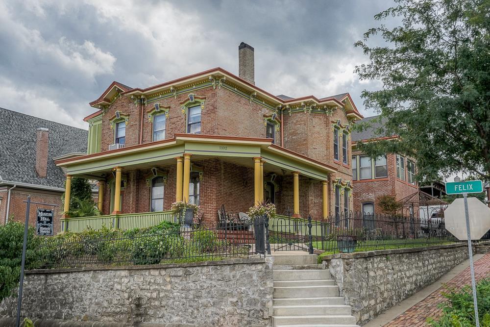 Chase Mansion 1885 Brick Italianate Top of Museum Hill Historic Neighborhood St. Joseph