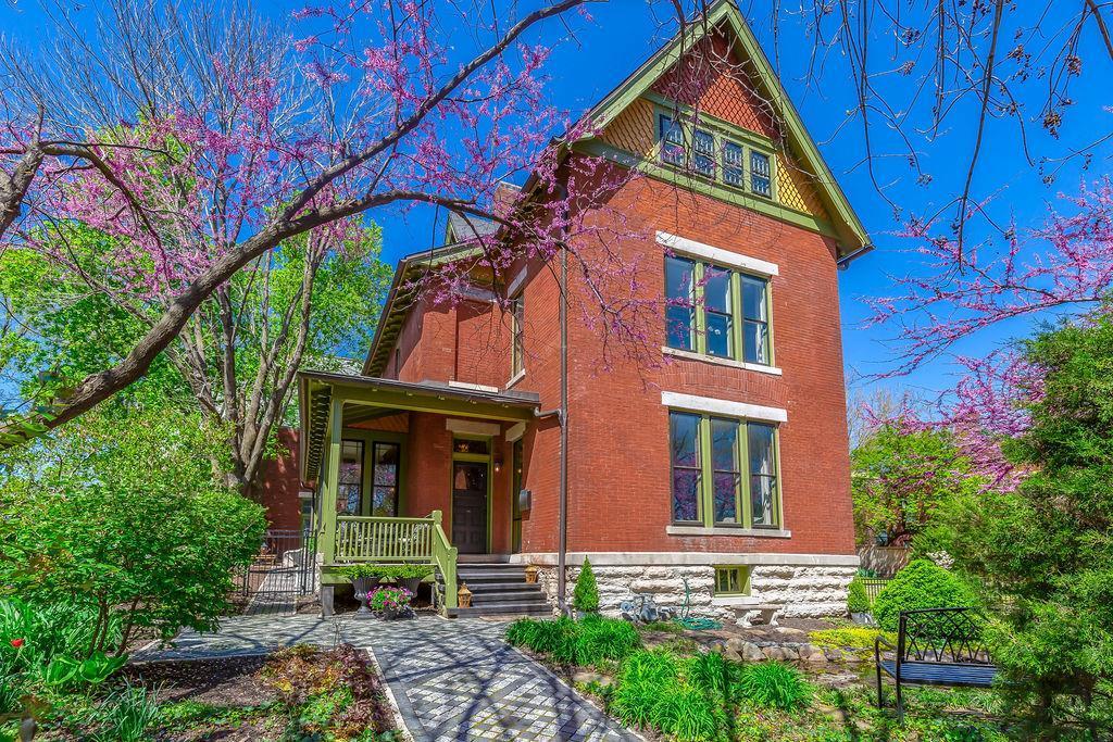 Circa 1880 Westside All Brick Restored Victorian 1722 Jefferson Kansas City MO