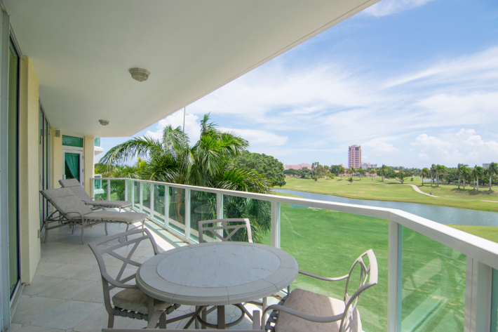 Townsend Place condominium B303, 550 SE Mizner Blvd unit B303, view from balcony