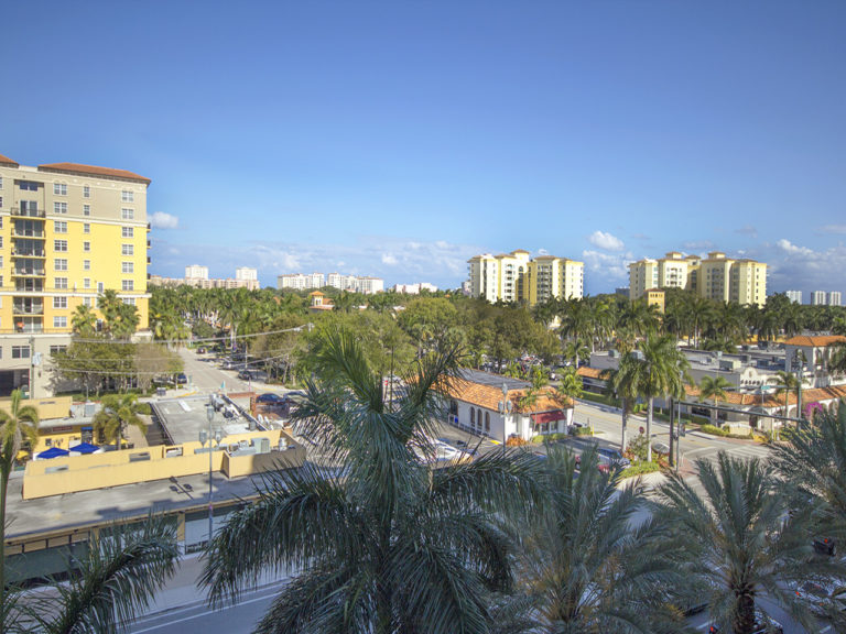 233 S Federal Hwy #509 Boca Raton FL Boca Grand 509 RX-10324321 View Balcony LR picture1