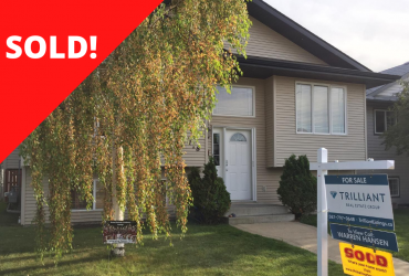 [SOLD] 118 Dubois Crescent Red Deer