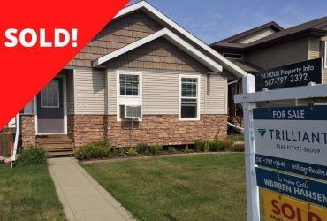 [SOLD] 73 Lodge Place Sylvan Lake