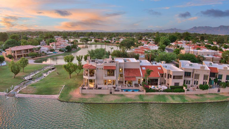 8351 E Del Camino Dr, Scottsdale aerial N