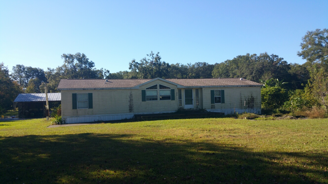 Mobile Home on 3 Acres in NW Ocala Florida