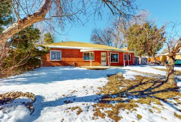 Ranch home in Hoffman Heights on a large corner lot (Sold $340,000)