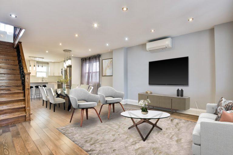 434 Christie St Living Room