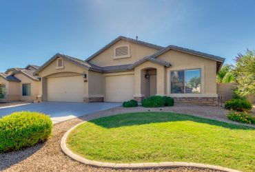 Lowest Priced 4 Bed, 2 Bath, 3 Car, Single Story In San Tan Valley