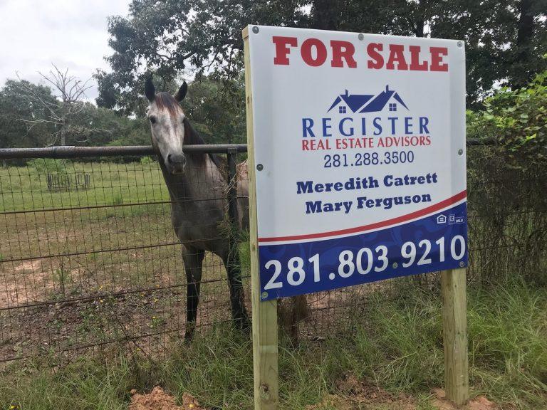 28110 Clint Neidgk Rd, Magnolia TX 77354 - Sign Photo
