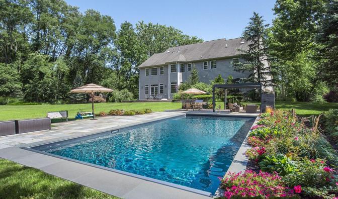 Pool 2 in Backyard