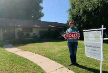 REO Sold Listing @ 13901 Dall Lane, N Tustin, CA